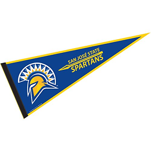 College Flags and Banners Co. San Jose State University Pennant Full Size Felt