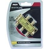 RCA DH44SP Signal Splitter 4-way High Bandwidth, 2.4GHz