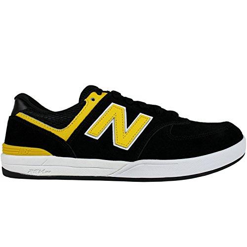 Zapatillas New Balance Numeric: 636 Logan Stitch BK/YL Black/yellow