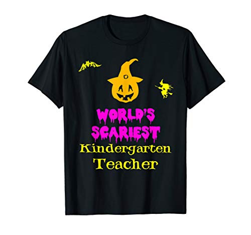 (World's Scariest Kindergarten Teacher Halloween)