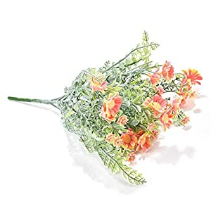 be-my-guest Artificial Flowers Decoration Decorative Flocking Chrysanthemum Flowers for Bouquet Wedding Bridal Decor 8