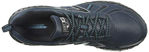 New Balance Men's 410v5 Cushioning Trail Running Shoe, Petrol/Cadet/Black, 7.5 D US by New Balance (Image #8)