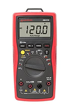 Amprobe AM-510 Commercial Residential Multimeter with Non-Contact Voltage Detection