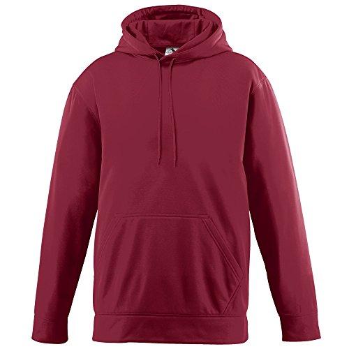 Augusta Sportswear Wicking Fleece Hooded Sweatshirt-Boys'