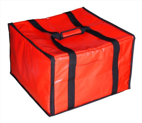 New Star 50134 Insulated Pizza Delivery Bag, 20 by 19 by 13.2-Inch, Red by New Star Foodservice