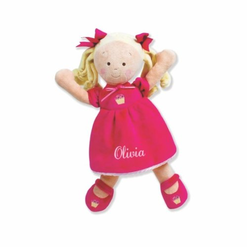 Personalized Little Princess Cupcake Doll - 14 Inch - Blonde, Olivia