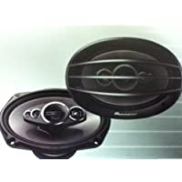 Pioneer Flush- Mount Car Speaker 6x 9 Coaxial 5-way 600W MAX.