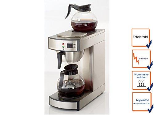 Profesional-Filtro-de-caf-elctrica-con-2-jarras-de-cristal-hasta-100-tazashora-fkm18-ggg