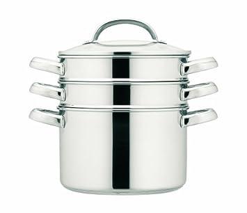 Awesome Prestige   Ollas Para Cocinar Al Vapor (apilables, 20 Cm, 3,8 Litros),  Acero: Amazon.es: Hogar