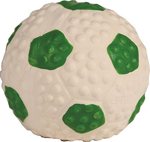 Coastal Pet Products 83206 GRNDOG Li'L Pals Latex Soccerball
