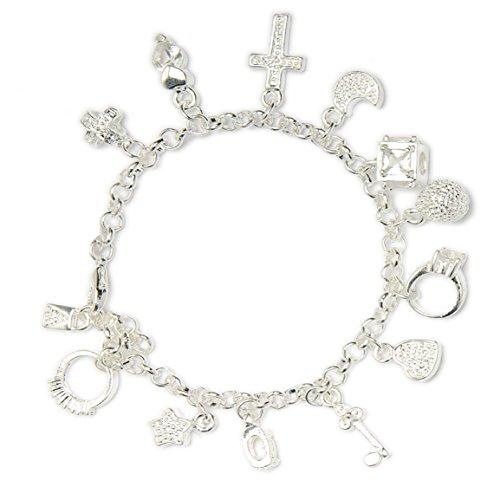 Beautiful Dangle Charms Austrian Crystals Jewelry (Austrian Crystal Dangle Bracelet)