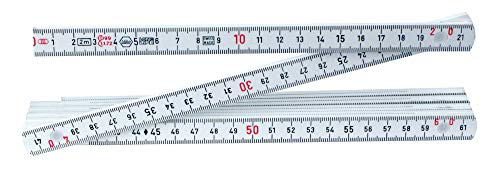 Folding ruler 200cm Metric measuring tool with 10 folds Wood for Yellow carpentry engineer