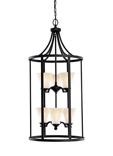 Somerton Pendant, 6-Light 54 Total Watts, Blacksmith (Somerton Pendant Light)
