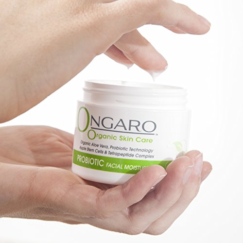 Ongaro-Organic-Facial-Moisturizer-Best-DayNight-Cream-for-Anti-Aging-Anti-Wrinkle-and-Uneven-Skin-Tone-with-Probiotic-Technology-Vitamin-A-C-E-Aloe-Vera-Apple-Stem-Cells-and-Peptides-2oz