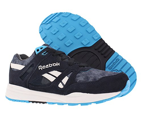 Reebok Ventilator Womens Shoes Size Night Navy / Blue Beam / White