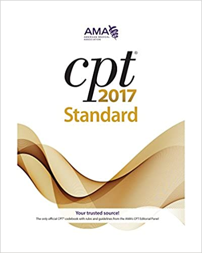 Amazon medical coding billing books cpt 2017 standard cpt current procedural terminology standard edition fandeluxe Gallery