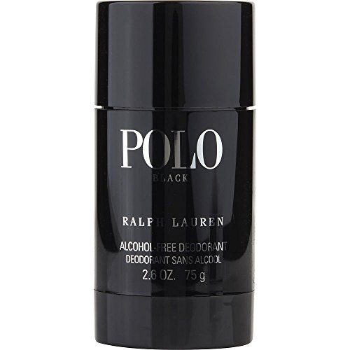 POLO BLACK by Ralph Lauren DEODORANT STICK ALCOHOL FREE 2.6 OZ (Package Of 3)