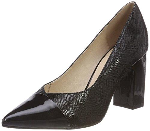 Rep Black Pumps Comb Footwear 12 22405 WoMen Black Caprice wxpaFHqYa