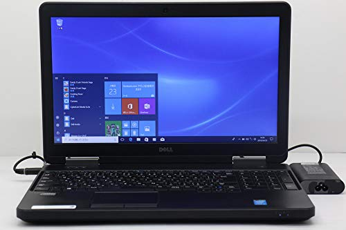 【中古】 DELL Latitude E5540 Core i5 4310U 2GHz/4GB/256GB(SSD)/Multi/15.6W/FWXGA(1366x768)/Win10   B07R3RY75H