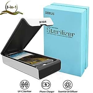 Amazon.com: SEIEUS - Desinfectante portátil para teléfono ...