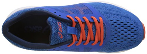 Asics Roadhawk FF, Scarpe Running Uomo Blu (Classic Blue/Cherry Tomato/Insignia Blue)