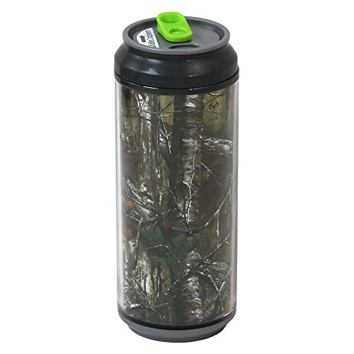 Cool Gear 16 Ounce Coolgearcan - Realtree Xtra Design - Gray (Best Cool Gear Insulated Water Bottles)