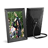 Nixplay 10.1 Inch Smart Photo Frame W10F Black - Digital WiFi Picture Frame with 1280x800 HD Display, Motion Sensor and 10GB Online Storage, Display and Share Photos via Nixplay Mobile App
