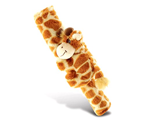 COTA Global Brown Giraffe Super Soft Safety Seat Belt Accessory Plush Cover Adorable Stuffed Animal 10