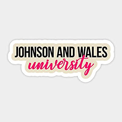 Johnson and Wales University - Sticker Graphic - Car Vinyl Sticker Decal Bumper Sticker for Auto Cars Trucks: Kitchen & Dining