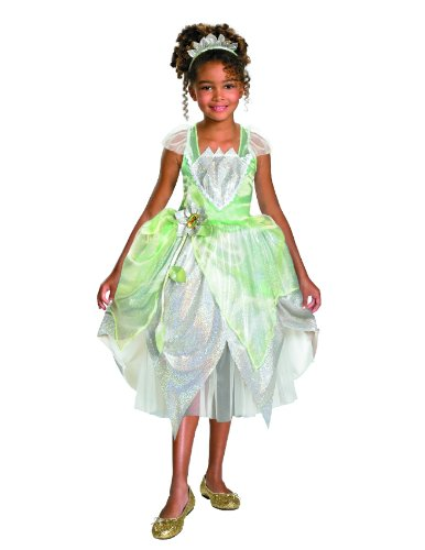 Princess Tiana Shimmer Deluxe Costume - Extra Small (3T-4T)