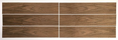Walnut Wood Veneer Pack - No Backing - 7.5 SQ FT - 6