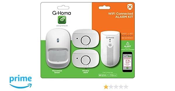 GAO emw302wf de HS g de Homa Mini de Alarma Kit Incluye ...