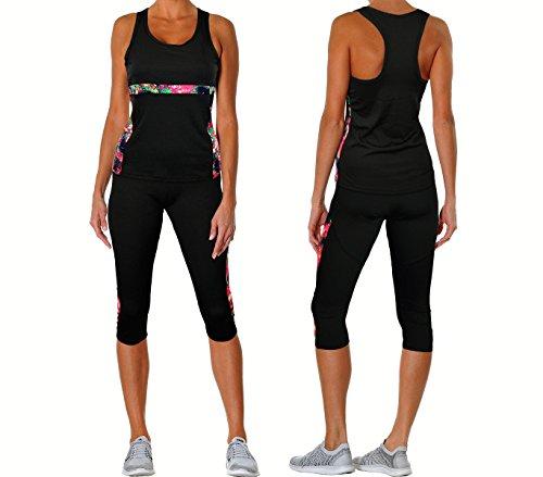 Conjunto deportivo para mujer modelo GUINONE en tres colores - Rosa, S-M