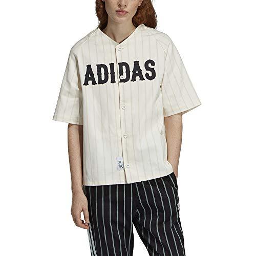 Jersey Baseball White Camicia Raw Adidas Donna Du9895 C5nTBpPqp