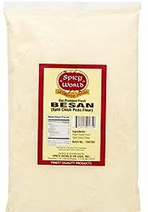 Spicy World Besan Chickpea Flour, 2 Pound