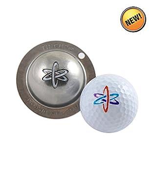 Tin Cup Unisex S Nuke It Golf Ball Marker Steel One Size