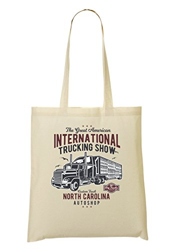 The Great American Trucking Show Nort Carolina Autoshop Handbag Shopping Bag