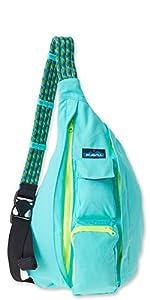 KAVU Rope Bag, Mint, One Size