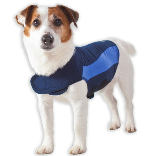 Thundershirt Blue Polo Large, My Pet Supplies