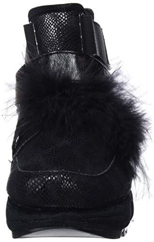 Nero p Gioseppo negro Stivaletto Pantofole 46105 46105 p A Donna S6qAY