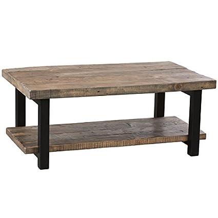 Rustic Coffee Table.Alaterre Pomona Rustic Coffee Table