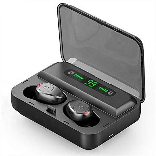 TWS Headphones Bluetooth v5.0 Wireless Earphone Mini Smart Touching Earbuds With LED Display 1200mAh Power Bank Headset…