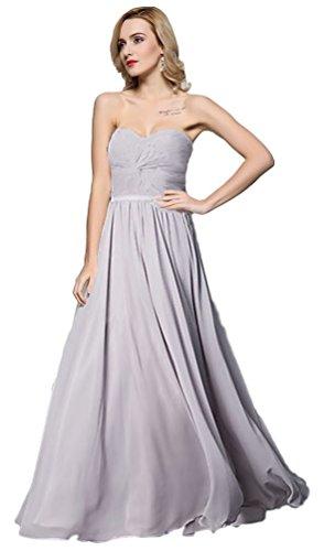 Meier Women's Strapless Sweetheart Pleated Evening Prom Dress (8, Mauve)