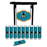 Worthy Promo NHL San Jose Sharks Gifts for Men and Women 10-Pack Premium Lip Balm