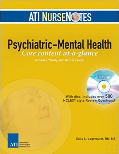 ATI NurseNotes Psychiatric Mental Health 9780976006336
