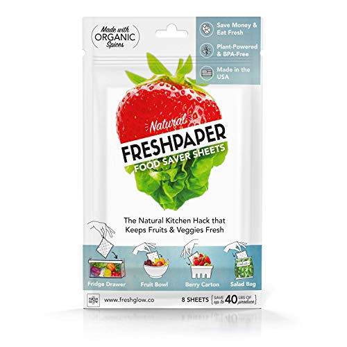 The FRESHGLOW Co. 9103 Fenugreen Saver Sheets, Produce (Best Way To Keep Banana Bread Fresh)