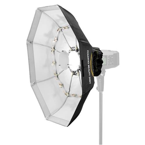 Glow Foldable Beauty Dish with Bowens Mount (White, 40'') by Glow (Image #1)