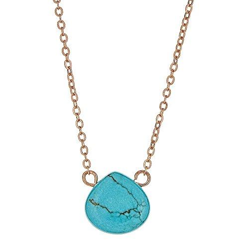 Turquoise Stone Drop - 5