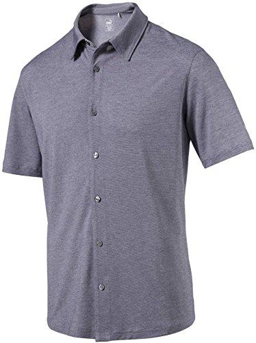 [プーマ] メンズ シャツ PUMA Men's Knit Golf Shirt [並行輸入品] B07P39HX36