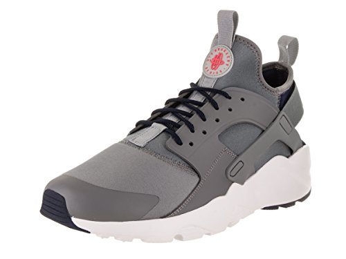 NIKE Men's Air Huarache Run Ultra Cool Grey/Wolf Grey/Obsidian Running Shoe 11 Men US by NIKE